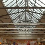 Depot Dachkonstruktion