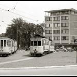 Straßenbahn am Westerntor