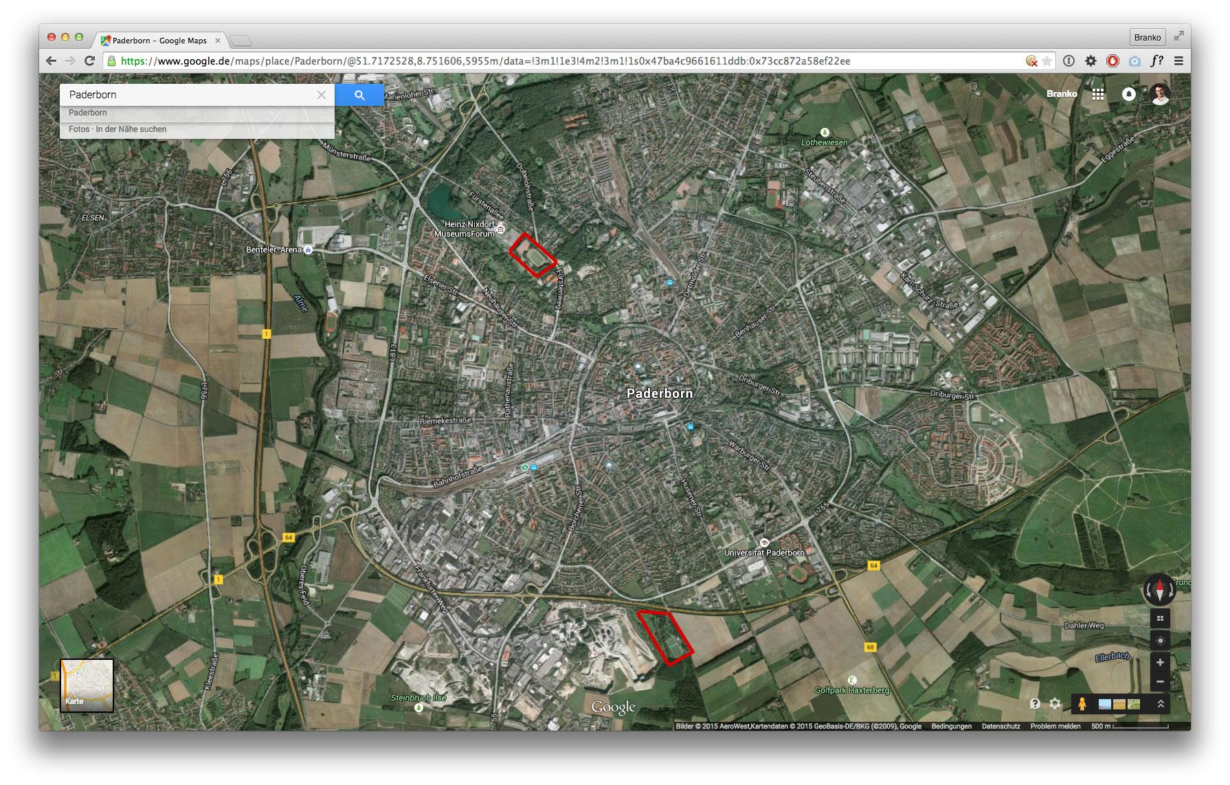 Karte: Übersicht